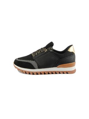 Кроссовки черные | 4734058