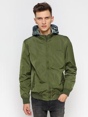 Куртка цвета хаки | 1899605