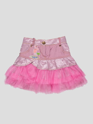Юбка розовая | 4712360