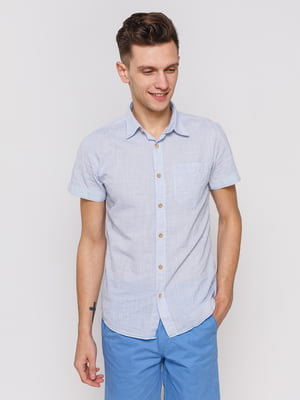 Рубашка голубая | 3966819