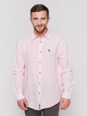 Рубашка розовая   3010369