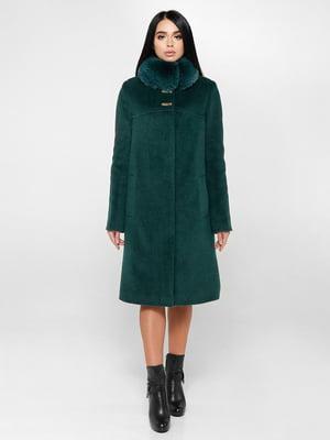 Пальто зеленое | 4734425