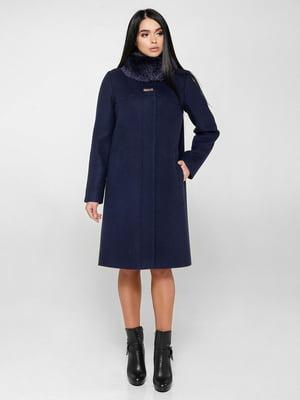 Пальто синее | 4734426