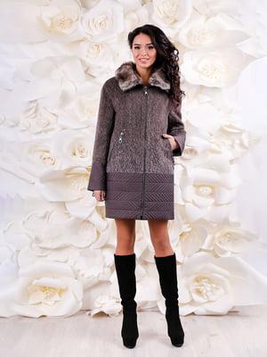 Пальто коричневое | 4734524