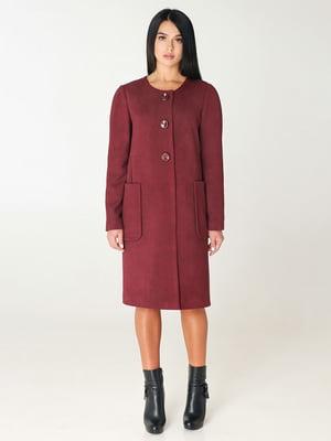 Пальто кирпичного цвета | 4735021
