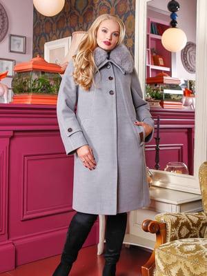 Пальто серое | 4735385