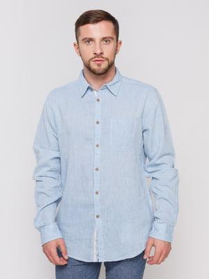 Рубашка голубая | 3967083
