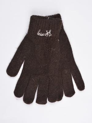Перчатки коричневые   4735534