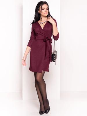 Сукня кольору марсала | 4695523