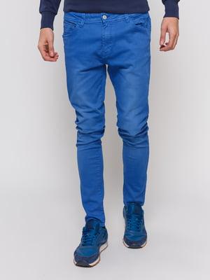 Брюки синие | 3966833