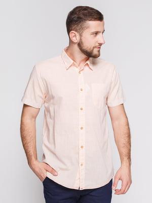 Рубашка розовая | 3966820