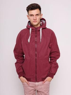Куртка бордовая | 3009926