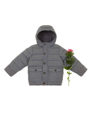 Куртка сіра | 4715611