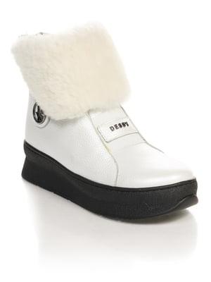 Ботинки белые | 4731175