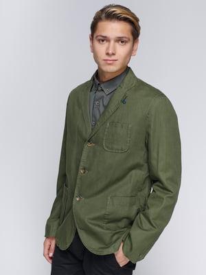 Піджак кольору хакі | 1899279
