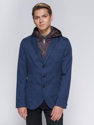 Куртка синя | 2992165