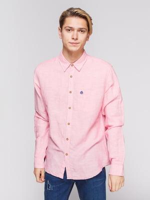 Рубашка розовая | 3010377