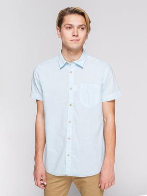 Рубашка персикового цвета   3966818