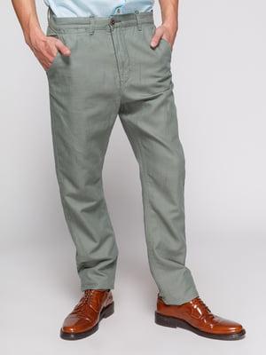 Штани сіро-зелені | 3966706
