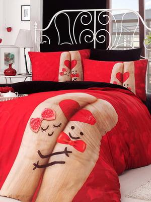 Комплект постельного белья двуспальный (евро) | 4735870