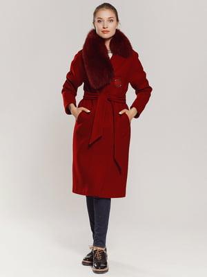 Пальто красное | 4739306