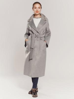 Пальто сіре   4739309