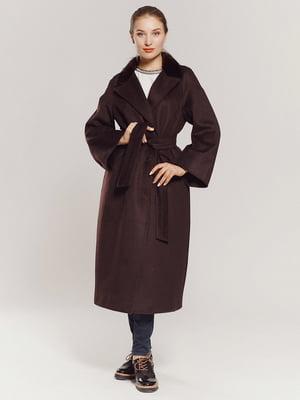 Пальто коричневое | 4739310