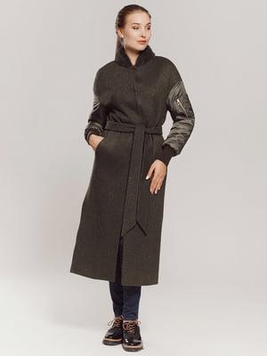 Пальто цвета хаки | 4739319