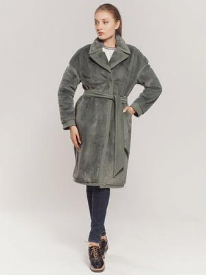 Пальто зеленое | 4739322