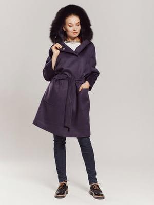 Пальто фиолетовое | 4739327