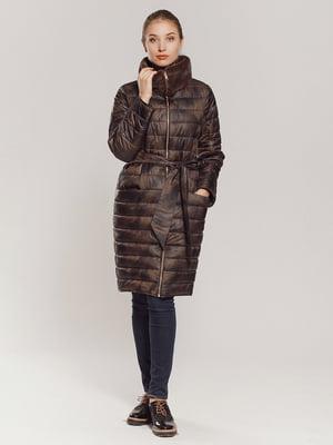 Пальто коричневое   4739339
