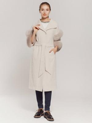 Пальто молочное | 4739348