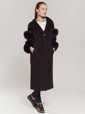 Пальто чорне | 4739349