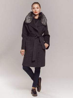 Пальто сіре | 4739366
