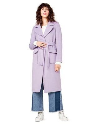 Пальто сиреневое   3850322