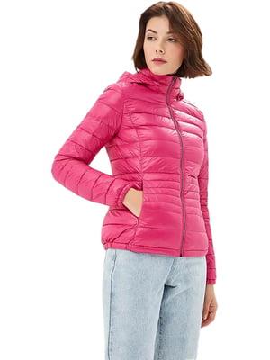 Куртка рожева | 4523744