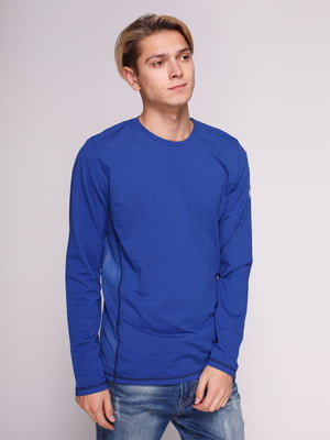 Лонгслив синий | 3010290