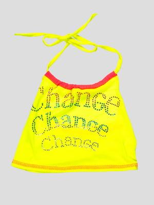 Топ лимонного цвета | 4712367