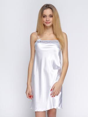 Рубашка ночная белая | 4736294