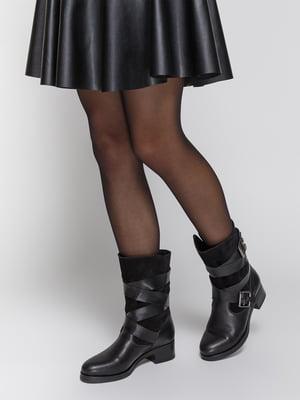Ботинки черные | 4738348