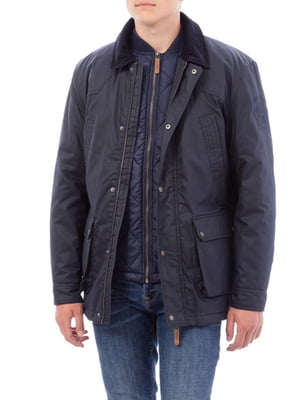 Куртка темно-синя | 4654383
