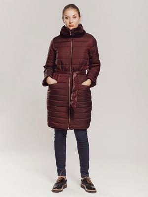 Пальто бордове | 4739407