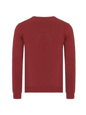 Пуловер терракотового цвета | 4624623