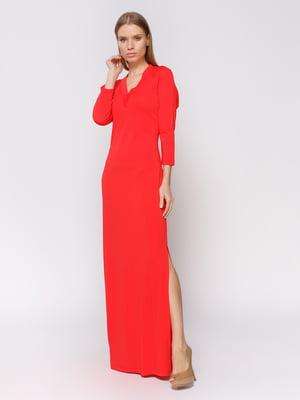 Платье коралловое | 4385870