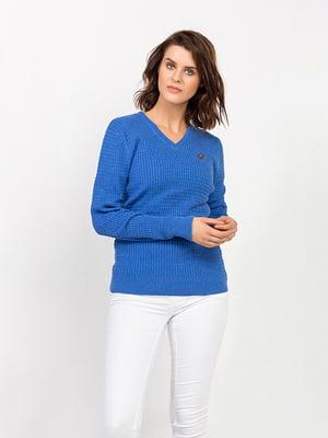Пуловер синий | 4624904