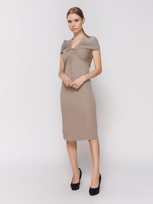 Платье серо-коричневое | 4653149