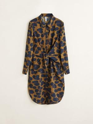 Платье анималистической расцветки | 4713825