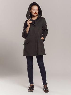 Пальто кольору хакі | 4739292