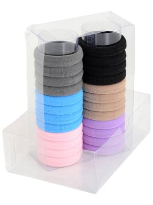 Набір резинок для волосся (24 шт)   4758580