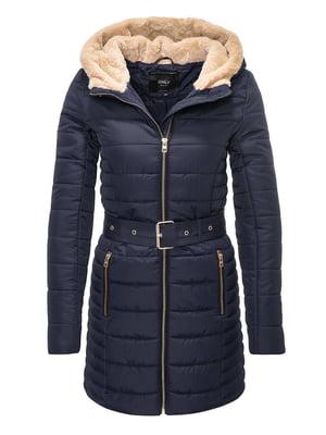 Пальто синее | 4759943